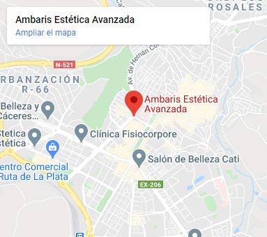 Centro de Estética en Cáceres Ambaris