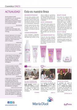Cosmética Oncológica en Cáceres con María D'uol